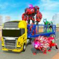 变形机器人运输卡车
