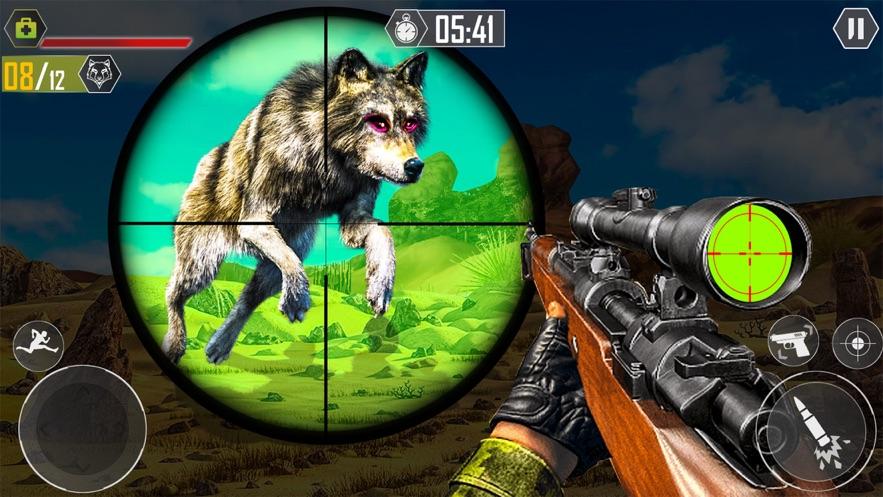 狼模拟器和狩猎