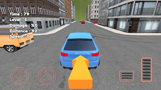 在城市里学开车