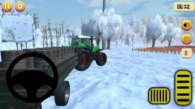 拖拉机农场运输