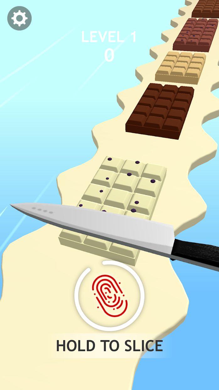 巧克力切割