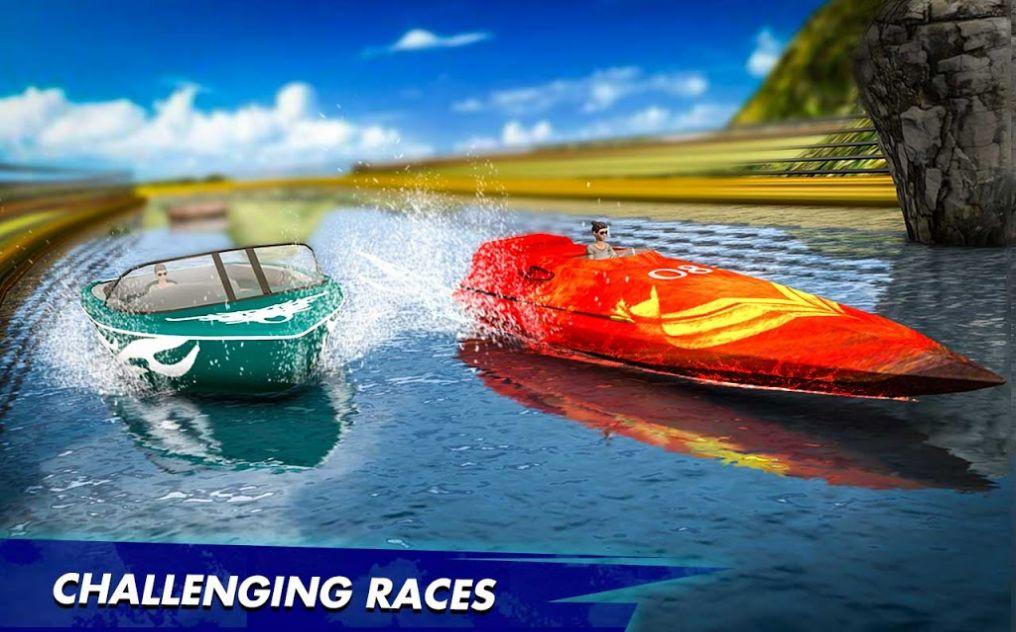快艇水上赛车特技2020