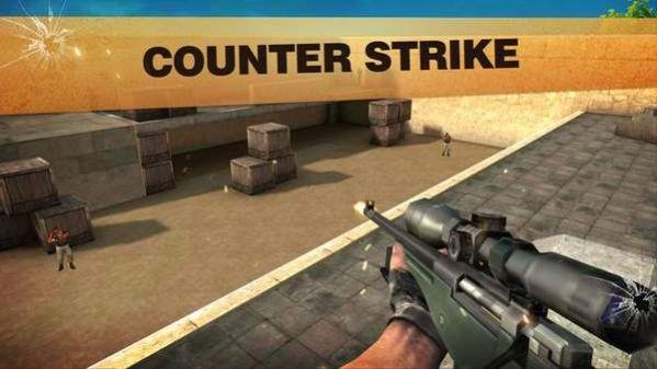 暴击CS射击