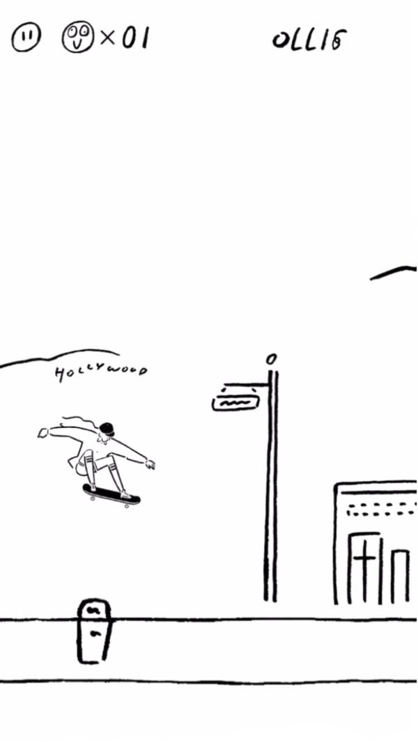滑板小仙女