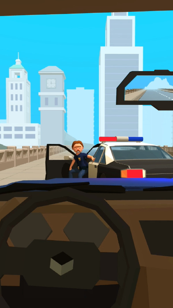城市警察巡逻模拟