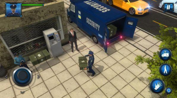 警察运钞车