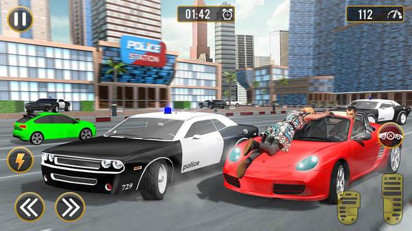 大佬驾驶城市汽车模拟器