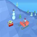 飞行的圣诞老人