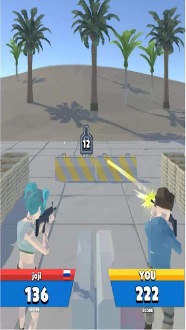 人类射击靶场