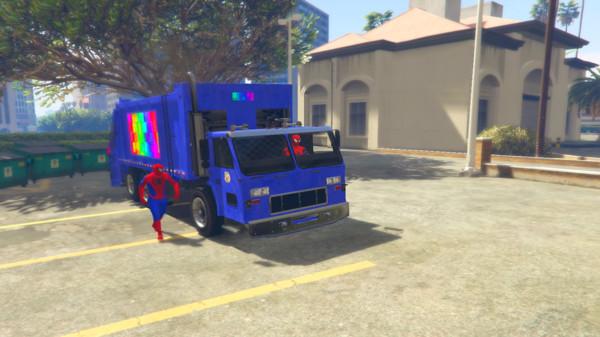 蜘蛛侠垃圾车