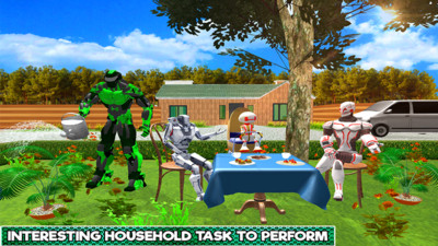 机器人家庭模拟器