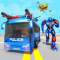 变形警车机器人
