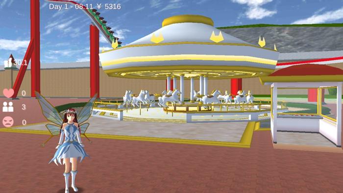 樱花校园模拟器仙子衣服版本中文版