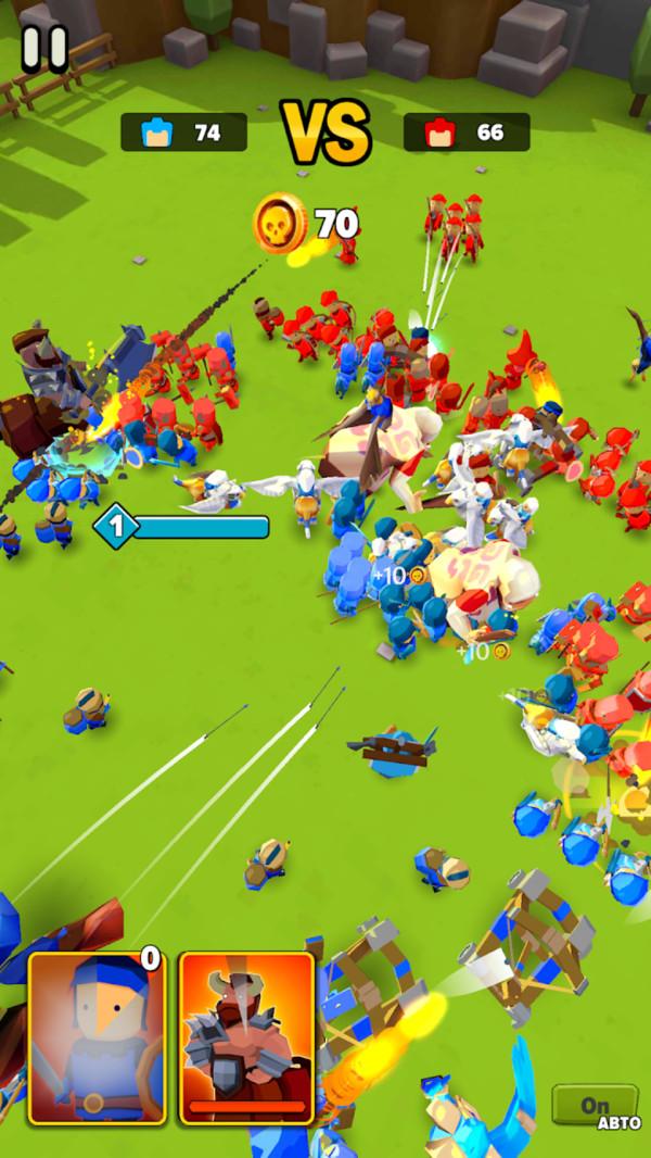 军团之战征服世界