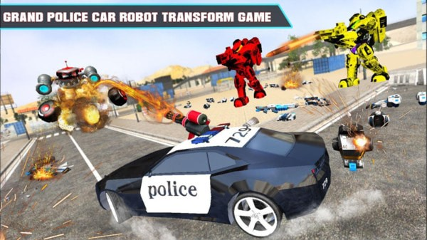 警车改造机器人