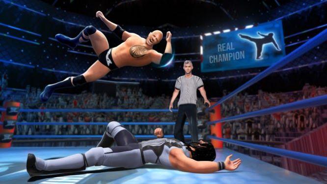 真正的摔跤格斗冠军摔跤比赛安卓版