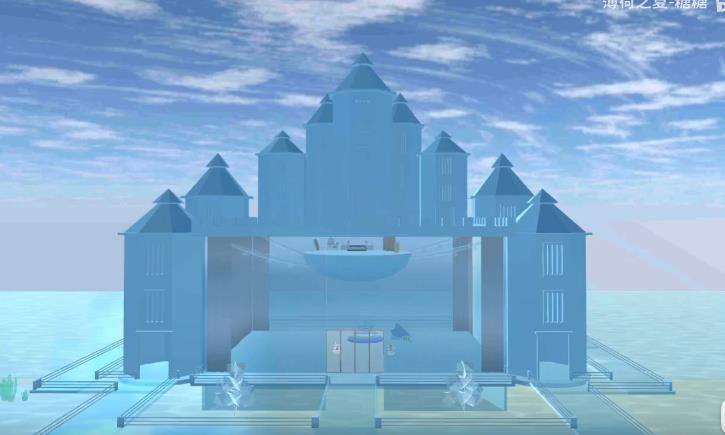 樱花校园模拟器冰晶宫