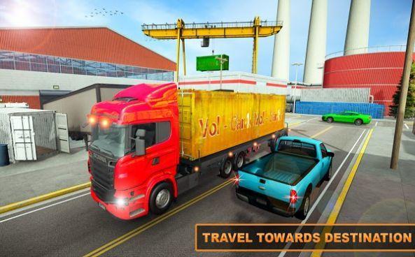 欧元卡车货运驾驶模拟器2021中文版