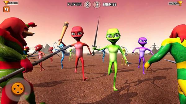 外星人模拟战争游戏