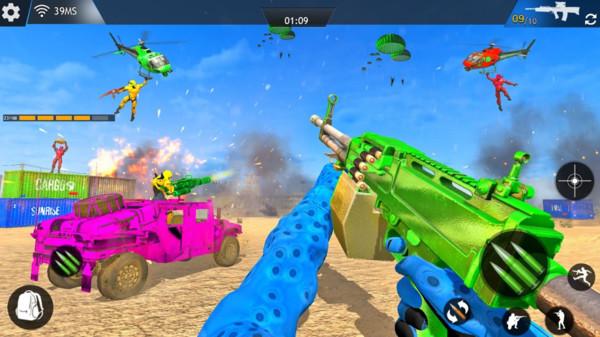 反恐射击机械人游戏