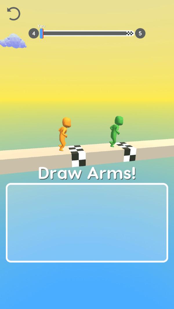 画个大长臂