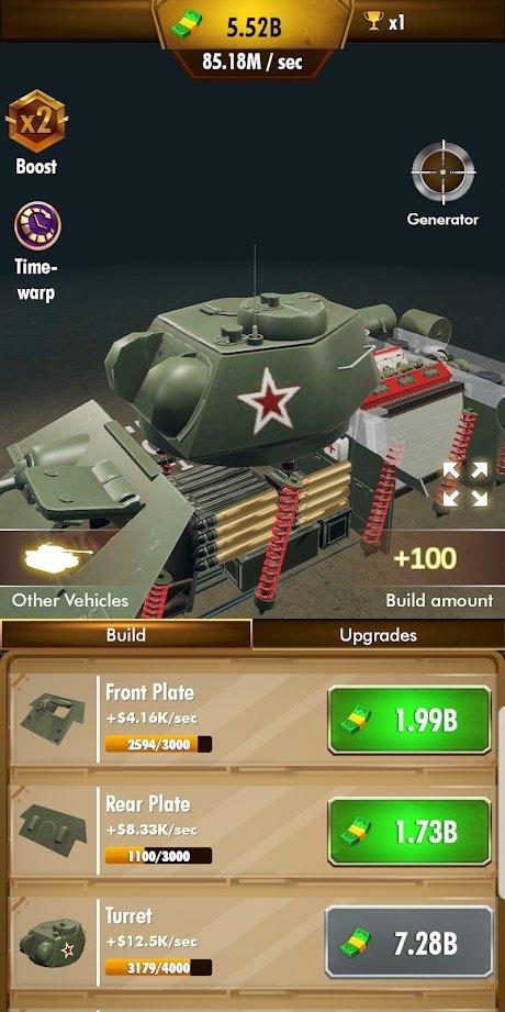 闲置装甲车中文版